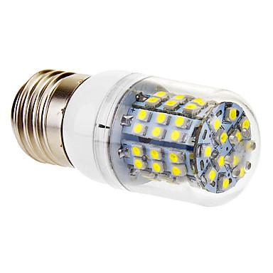 3W E26/E27 LED Mısır Işıklar T 60 SMD 3528 360 lm Serin Beyaz AC 220-240 V