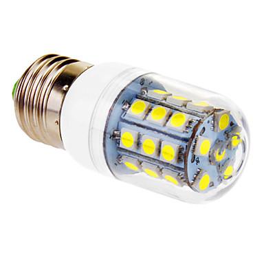450 lm E26/E27 LED Mısır Işıklar T 30 led SMD 5050 Serin Beyaz AC 220-240V