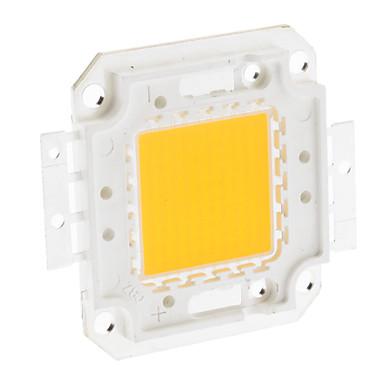 DIY 100W 7900-8000LM 3000mA 3000-3500K Sıcak Beyaz Işık Entegre LED Modül (32-36V)