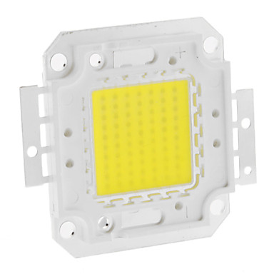 Diy 70 w 5550-5600lm 2100ma 6000-6500 k soğuk beyaz ışık entegre led modülü (30-36 v)