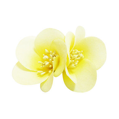 Kadın Tüy Kumaş Başlık-Günlük Çiçekler