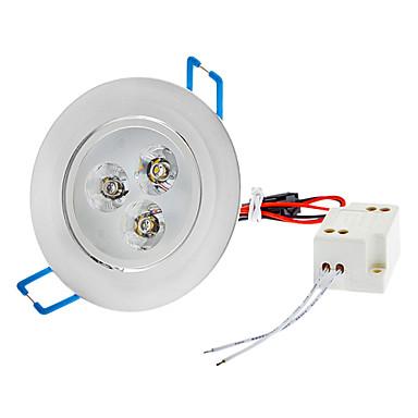 SENCART JIAWEN 3 W Spoturi LED 210-260 lm LED-uri de margele LED Putere Mare Alb Cald 85-265 V