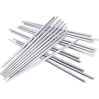 yüksek kaliteli kaymaz paslanmaz çelik çubuklarını (3 çift)