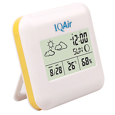 Room Thermometer Hygrometer Digital with Weather Indication Zone
