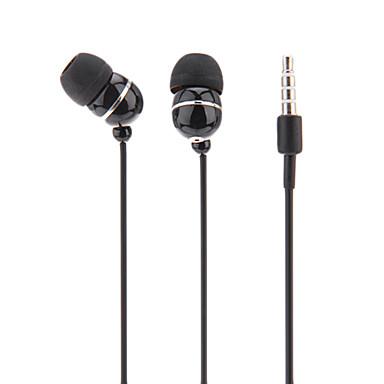 D11 Kulakta Kablolu Kulaklıklar Dinamik Plastik Cep Telefonu Kulaklık Gürültü izolasyon kulaklık