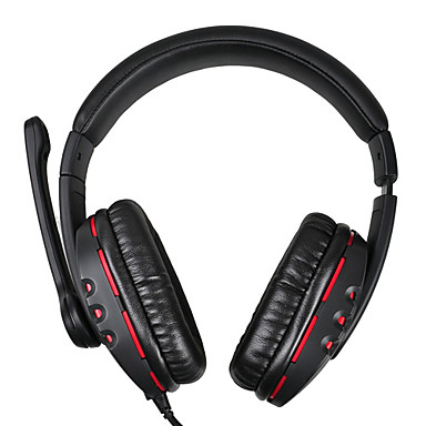 Somic EV-55 Stereo 3.5mm Gaming/Music Over-Ear Headset with Mic and Remote for PC
