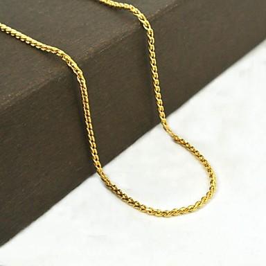 Altın Paslanmaz Çelik / Titanyum Çelik / Altın Kaplama Günlük / Spor Mücevher
