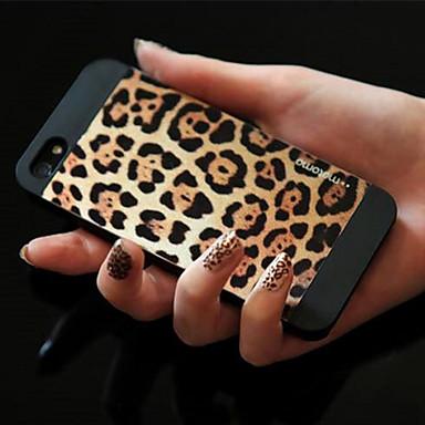 Leopard OPPSKRIFT tilbake tilfelle for iPhone 5/5S