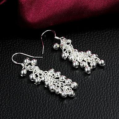 Kadın Damla Küpeler Gümüş Kaplama Mücevher Uyumluluk Parti Günlük