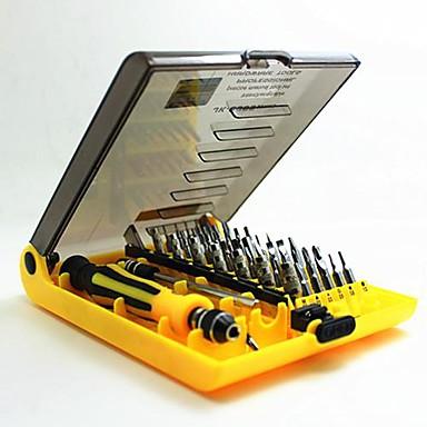 JK 6089-A Multifunctional Combined Screwdriver Mobile phone / Computer Repair 45in1 Professional Hardware Tools