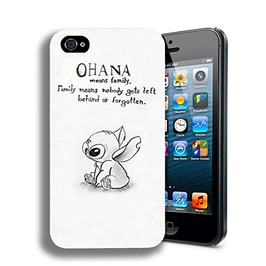 Pouzdro Uyumluluk iPhone 4/4S / Apple Arka Kapak Sert PC için iPhone 4s / 4