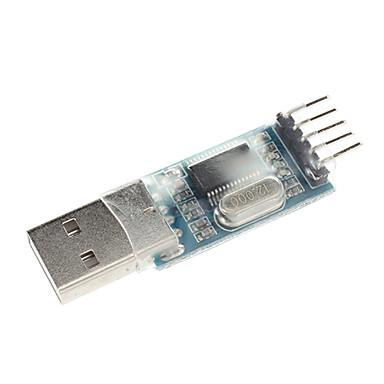 pl2303 usb - rs232 ttl dönüştürücü adaptör modülü toz geçirmez kapaklı