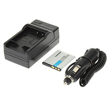 SONY W630 W570 W350 WX100 WX150 için ismartdigi 630mAh Kamera Pil + Araç Şarj Cihazı