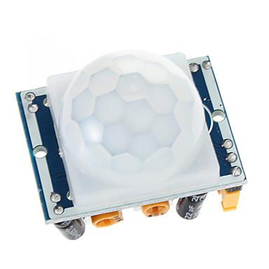 HC-SR501 IR Pyroelektrik Kızılötesi Hareket Sensörü PIR Dedektörü Modülü ayarlayın