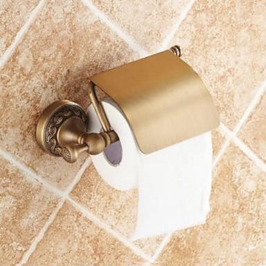 Suport Hârtie Toaletă Calitate superioară Tradițional Alamă 1 piesă - Hotel baie