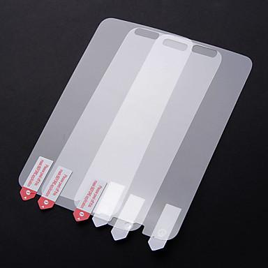 Ekran Koruyucu için Samsung Galaxy S5 PVC Ön Ekran Koruyucu Parmak İzi Yapmayan