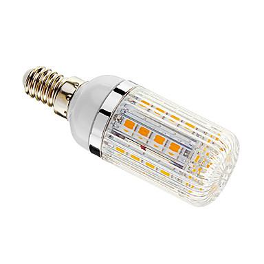 E14 LED Mısır Işıklar T 36 led SMD 5050 Kısılabilir Sıcak Beyaz 480lm 3000-3500K AC 220-240V