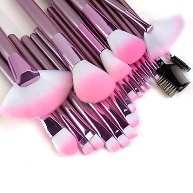 22pcs Makyaj fırçaları Profesyonel Fırça Setleri / Allık Fırçası / Fondöten Fırçası Naylon Fırça / Sentetik Saç / Suni Fibre Fırça Portatif / Profesyonel