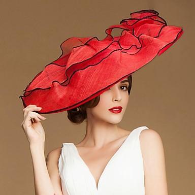 Fashional Keten Kadın Düğün / Ayrılık / Balayı Çiçekli ile Hat (Daha fazla renk)