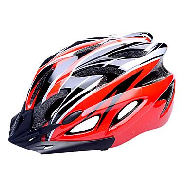 FJQXZ 자전거 헬멧 18 통풍구 싸이클링 하프 쉘 스포츠 PC EPS 도로 사이클링 사이클링 / 자전거