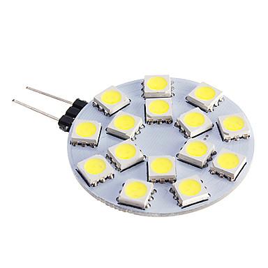 480 lm G4 LED Σποτάκια 15 leds SMD 5050 Θερμό Λευκό Ψυχρό Λευκό DC 12V