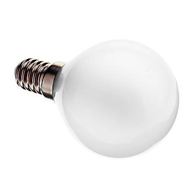 1pc 3 W 180-210 lm E14 LED Küre Ampuller G45 25 LED Boncuklar SMD 3014 Dekorotif Sıcak Beyaz 220-240 V / # / RoHs