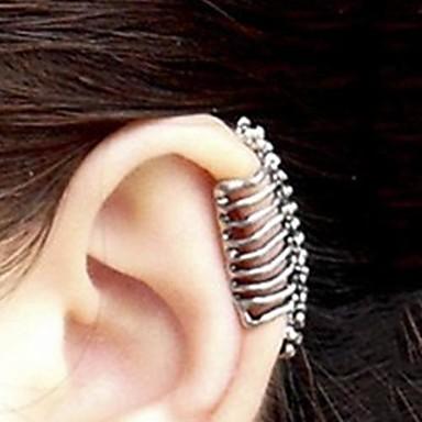 Pentru femei Craniu Cătușe pentru urechi - Argintiu cercei Pentru Petrecere Zilnic Casual