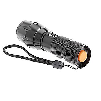 Trustfire 5 LED Fenerler LED 1000 lm 5 Kip Cree XM-L T6 Zoomable Kaymaz Tutacak Şarj Edilebilir Su Geçirmez Çok Fonksiyonlu