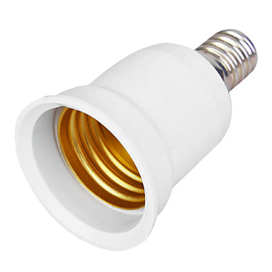 e14 e27 led bombillas para adaptador de enchufe