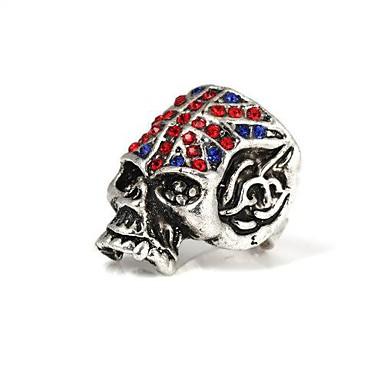 Inele Skull shape Zilnic / Casual Bijuterii Aliaj Inele Afirmatoare8 / Ajustabil Argint