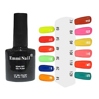 UV Gel Colorful Nail Polish (10ml,1 Bottle)