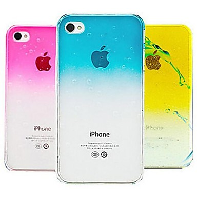 3D Rain Drop Hard Case for iPhone 4/4S