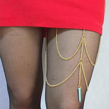 Bijuterii de corp 50 cm Lanț de Talie / Lănțișor Picior Argintiu / Auriu Reșină / Aliaj Costum de bijuterii Pentru Petrecere / Zilnic / Casual 1.0*1.0*1.0 cm Vară