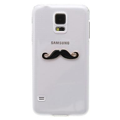 Pentru Samsung Galaxy Carcasă Carcase Huse Stras Transparent Model Carcasă Spate Maska 3D desen animat PC pentru Samsung S5