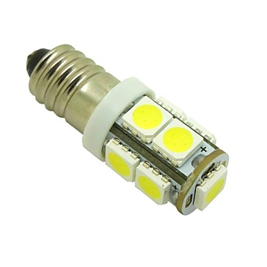 2pcs E10 Araba Ampul 1W SMD 5050 100lm LED İç Işıklar For Uniwersalny