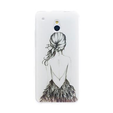 Için HTC Kılıf Temalı Pouzdro Arka Kılıf Pouzdro Seksi Kadın Yumuşak TPU HTC