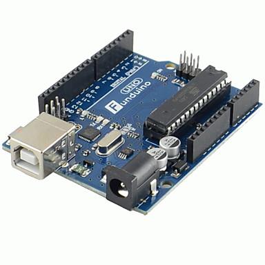 1pcs (para arduino) placa de desarrollo r3 uno del más nueva nueva versión y cable usb 2012 (50 cm)