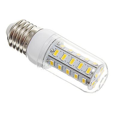 650lm E26 / E27 LED Mısır Işıklar T 36 LED Boncuklar SMD 5730 Sıcak Beyaz 220-240V / #