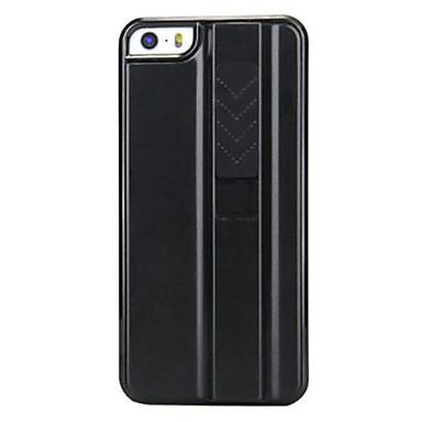 Için iPhone 5 Kılıf Other Pouzdro Arka Kılıf Pouzdro Solid Renkli Sert PC iPhone SE/5s/5