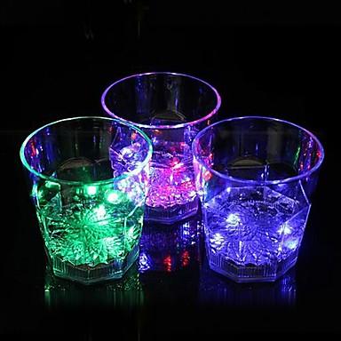 Coway bar ışık yayan led gece lambası sekizgen camını adanmıştır