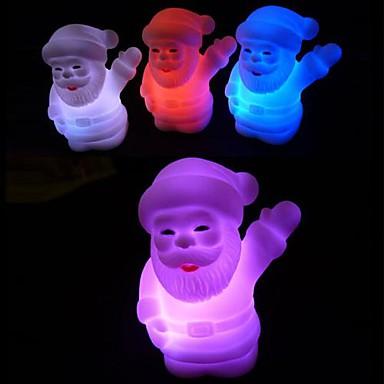 1 buc LED-uri de lumină de noapte Baterie Rezistent la apă