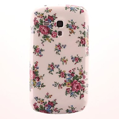 Rose Pattern PC Hard Case for Samsung Galaxy S3 Mini I8190