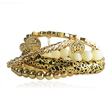 Dames Strand Armbanden Acryl Legering Luipaard Sieraden Voor Feest Dagelijks Causaal 1 Set