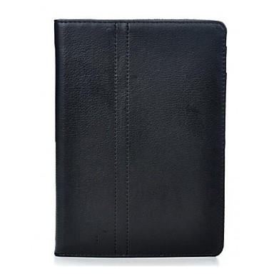Litchi model PU piele cu stand completa Organismul caz pentru Blackberry PlayBook de 7 inch (Negru)