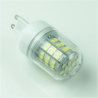 400 lm G9 LED Mısır Işıklar T 60 led SMD 2835 Dekorotif Serin Beyaz AC 220-240V