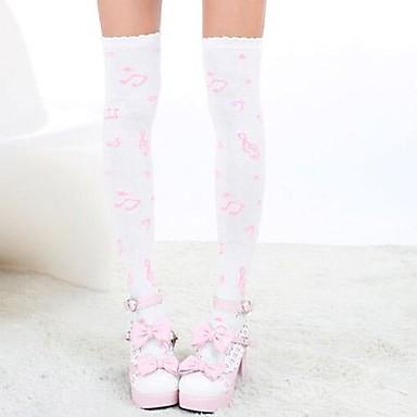Șosete/ciorapi Lolita dulce lolita Prințesă Lolita Accesorii Șosete Imprimeu Pentru Nailon