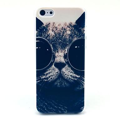 Pentru Model Maska Carcasă Spate Maska Pisica Greu PC pentru Apple iPhone 5c