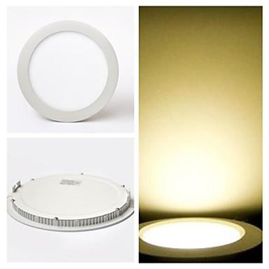 700 lm Panel Işıkları Tavan Işıkları Gömme Uyumlu 40 led SMD 2835 Sıcak Beyaz AC 85-265V