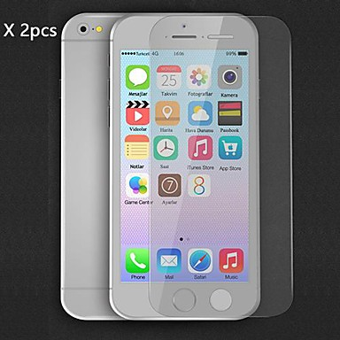 DF 2pcs HD Clear Screen Protector for iPhone 6S/6 Case 4.7