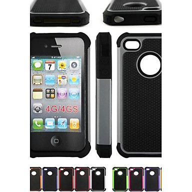 Pouzdro Uyumluluk iPhone 4/4S Apple Tam Kaplama Kılıf Yumuşak Silikon için iPhone 4s/4